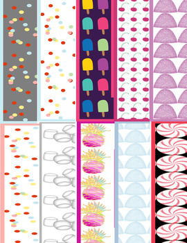 58 Sweet Rectangle and Square Frames Clip Art Personal & Commercial Use