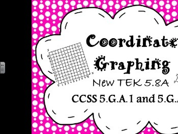 5.8A, B, C Coordinate Graphing Bundle