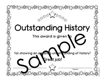 End of the Year Awards - Editable - Color and Black/White