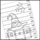 59 Harry Potter coloring NUMBER PUZZLES –  Counting by 1s, 2s, 3s, 5s, 10s...