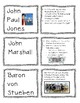 US History STAAR REVIEW Card Sort - 59 Sort Cards
