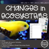 Changes in Ecosystems: Biotic and Abiotic Factors (Complete 5E Activity Pack)