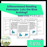 5E-CF 1a Fiction Comprehension Work Samples- Lulu the Blue