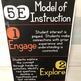 5E Instructional Model Posters