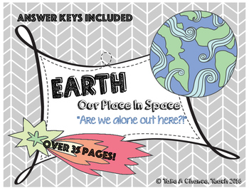 5E Lesson Plan: Earth's Place in Space (Structure of the U
