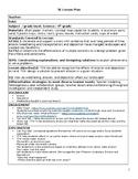 5E Lesson Plan: Effects of Erosion/Preventing Erosion