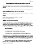 5E Lesson Plan The Federalist vs. The Anti-Federalist 5th grade