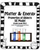 5E Model: Matter & Energy - Complete Unit (with Interventi
