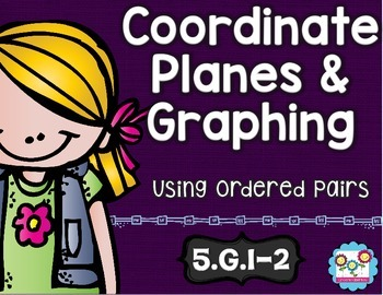 Coordinate Planes and Graphing Math Tasks and Exit Tickets