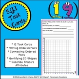 Coordinate Grid Task Cards (5.G.1)