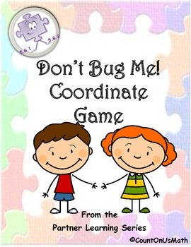 CCSS 5.G.1 and 5.G.2 Don't Bug Me Coordinate Grid Game