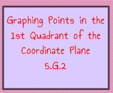 5.G.2 Graphing Points I Have Who Has Game