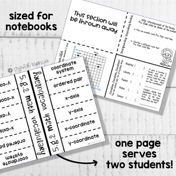 5G2 Interpreting Coordinate Grids & Graphs (Interactive Notebook Series)