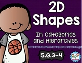 2D Shapes Math Tasks and Exit Tickets 5th Grade