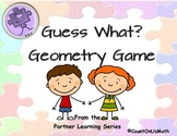 CCSS 5.G.3 Guess What Attribute Game