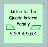 5.G.3 and 5.G.4 Intro to Polygons and The Quadrilateral Fa