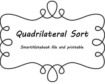 Quadrilateral Sort - SmartNotebook File