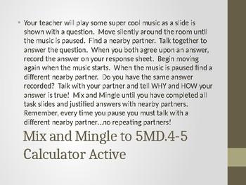 5MD.4-5 Mix and Mingle