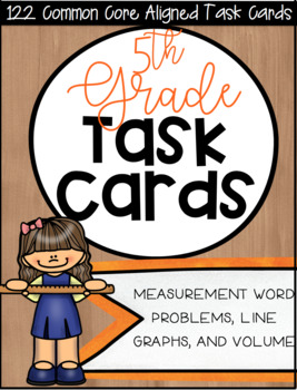 5MD CCSS Standard Based Task Card Bundle - Includes All 5M