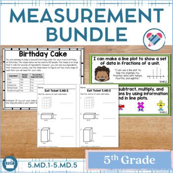 Measurement Bundle 5th Grade
