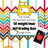 US Weight Self Grading Quiz