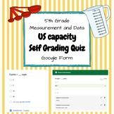 US Capacity Self Grading Quiz FREEBIE