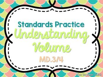 5.MD.3 & 5.MD.4 Standards Practice {Freebie!}