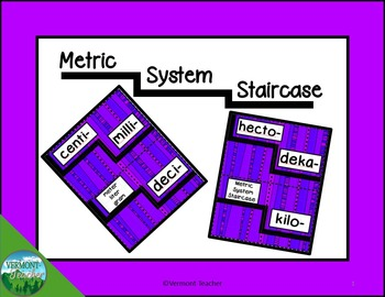 5.MD.A.1- Metric Conversion Staircase