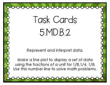 5.MD.B.2 Task Cards