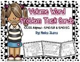 5.MD.C.5 - Volume Word Problem Task Cards