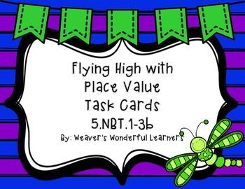 5.NBT.1-3 Place Value Task Cards
