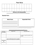 5.NBT.1 Place Value Interactive Notebook