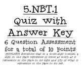 5.NBT.1 Quiz
