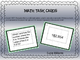 Place Value Task Cards for 5th Grade