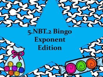 5.NBT.2 Bingo