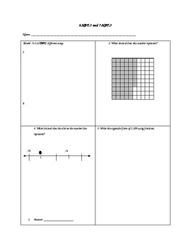 5.NBT.3 5th grade Commom Core Assessment