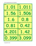 5.NBT.3 Ordering Decimals