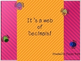 5.NBT.3 Read write and compare decimals - Halloween theme