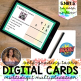 5NBT5 Multi-digit Multiplication Boom Cards™ | Digital Task Cards