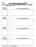 5.NBT.5 Multiplication Strategies Homework #2