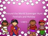 5.NBT.5 Scavenger Hunt Around the World