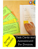 5.NBT.B.6 Division Assessment and Task Cards