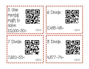 5NBT6 Division Task Cards