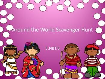 5.NBT.6 Scavenger Hunt Global Connections