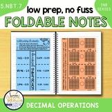 5NBT7 Decimal Operations (Interactive Notebook Series)