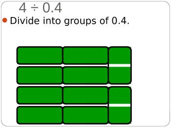 5.NBT.7 Model Division of Decimals Using Grids
