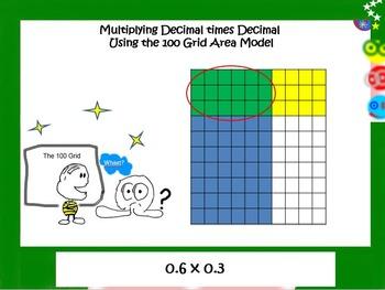 5.NBT.7 Multiplying Decimal times Decimal Using an Area Model