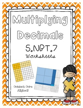 5.NBT.7 Multiplying Decimals Using Partial Product- Area Models