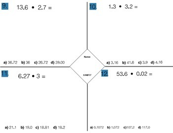 5.NBT.7Add, subtract, multiply, and divide decimals to hundredths,