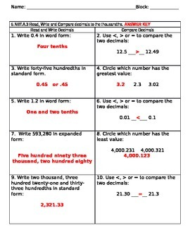 5NBTA3 Read Write and Compare Test with KEY
